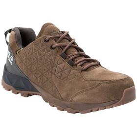 Jack Wolfskin Cascade Hike LT Texapore Chaussures à tige basse Homme, dark wood/phantom